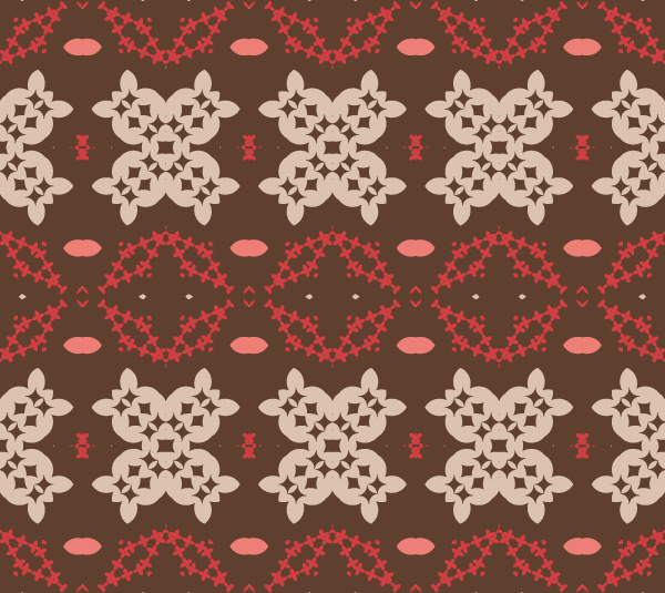Vintage Pattern Design Free Vector