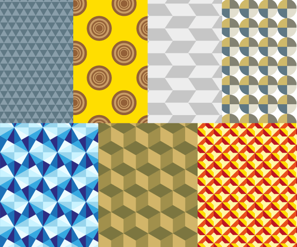 Geometric Pattern Vector Illustration