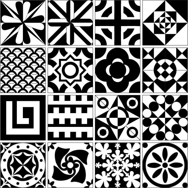 free tile vector pattern