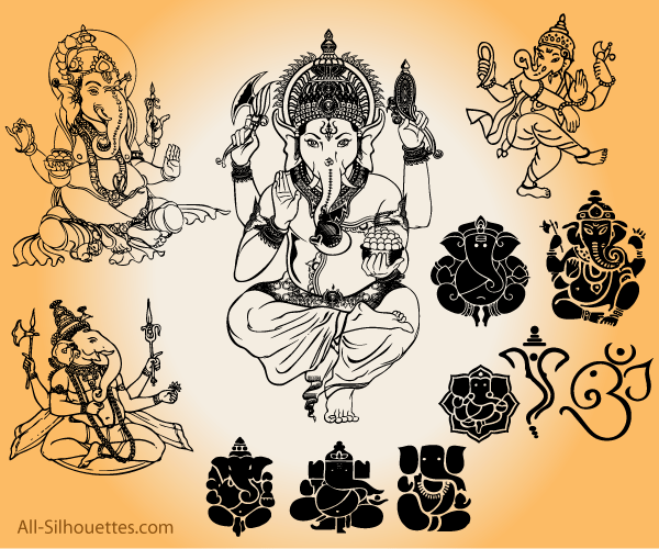 011-vector-ganesha-free-download Trends For Vector Art Images Free Download @koolgadgetz.com.info