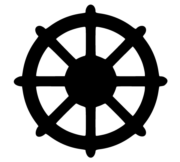 dharmachakra symbol vector download free vector art