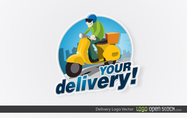 Delivery Logo Design Vector Free Download on fun house buildings