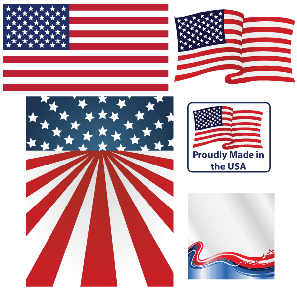 american flag vintage vector - photo #20
