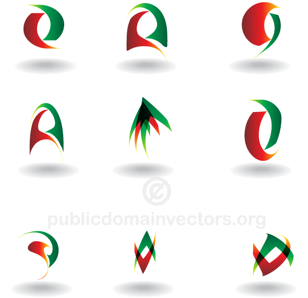 Abstract Logo Design Elements Vector Download Free