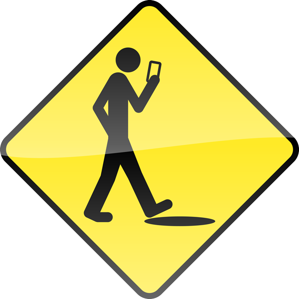 Smart Phone, Stupid Human Sign Image