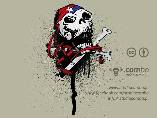 Vector Jolly Roger Skull