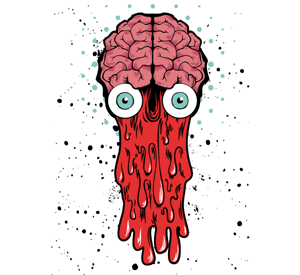 T-shirt Vector Free Download Bad Brain – Vector T-shirt