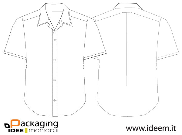 Shirt vector template download free vector art free for Clothing templates for illustrator