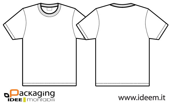 T-shirt Vector Free Download 009-t-shirt Vector Template