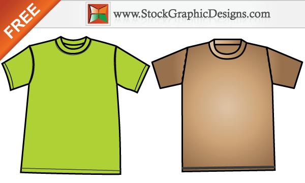 free apparel men s t shirt template design vector download free vector art free vectors. Black Bedroom Furniture Sets. Home Design Ideas