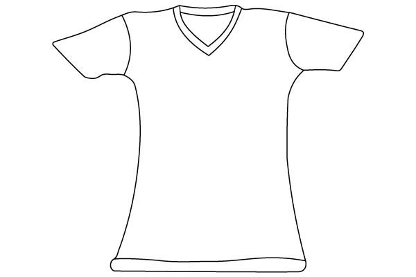 T shirt template illustrator download free vector art for Clothing templates for illustrator