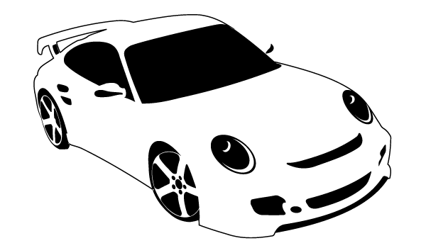 free car silhouette clip art - photo #7
