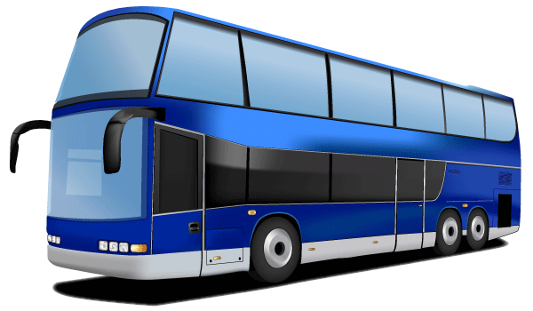 Double Decker Bus Free Vector