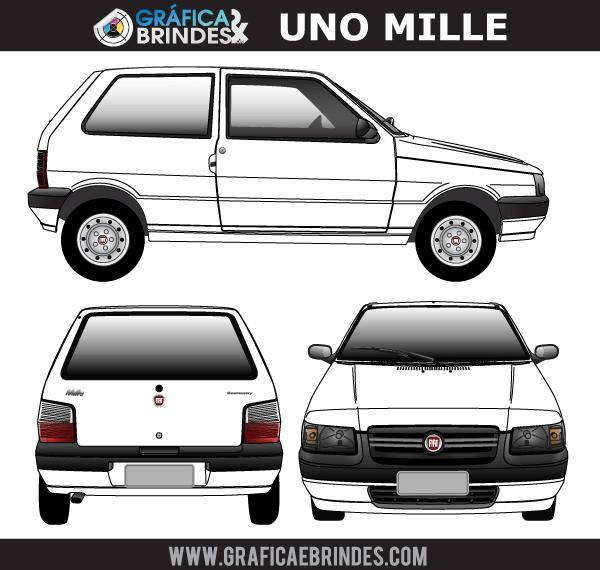Fiat Uno Mille Vector Art Download Free Vector Art