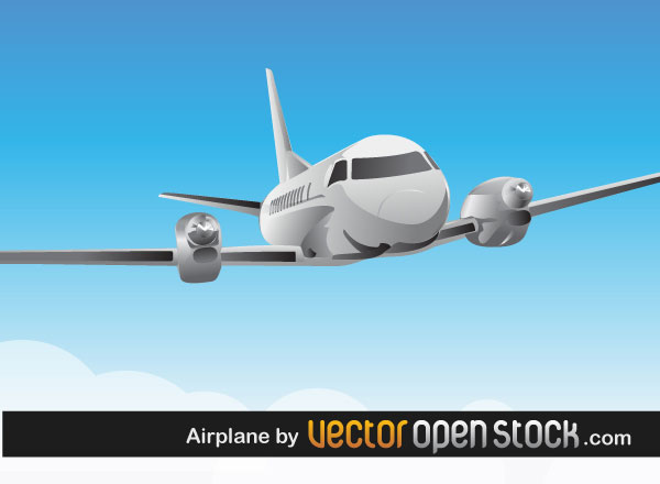 Airplane Vector Art