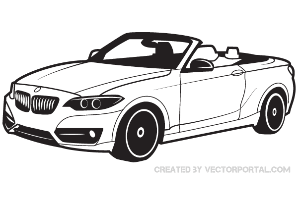 Bmw Car Vector Image Download Free Vector Art Free Vectors