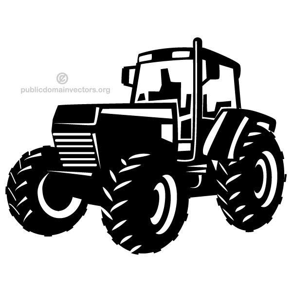 Tractor Vector Image | Download Free Vector Art | Free-Vectors