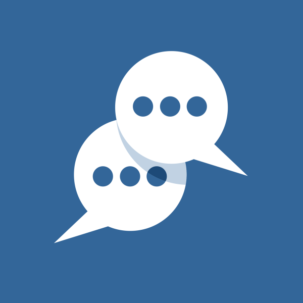 Messages Icon Vector Flat Design
