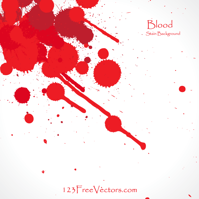 Blood Splatter Background Download Free Vector Art