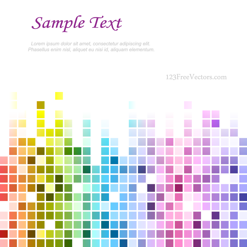 Rainbow tile background designs download free vector art for Web design tile layout