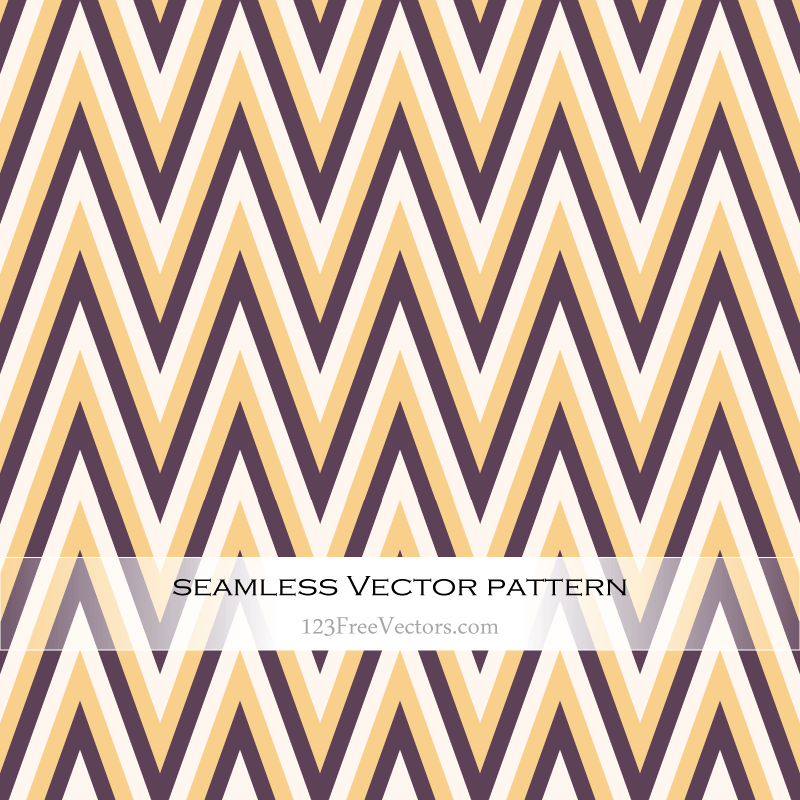 Zigzag Chevron Seamless Pattern