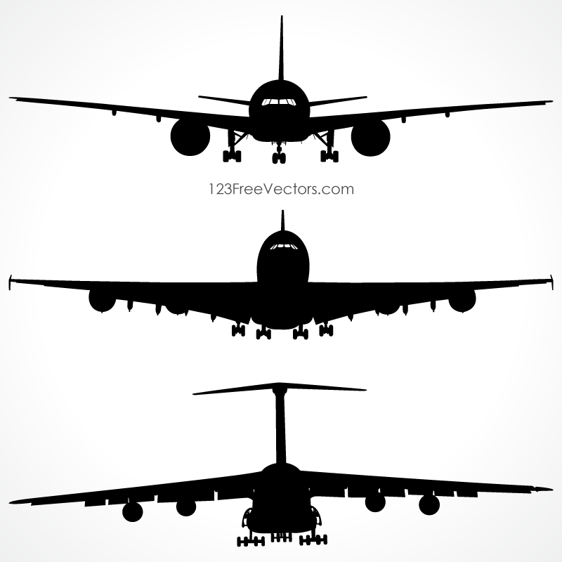 free airplane clipart vector - photo #42
