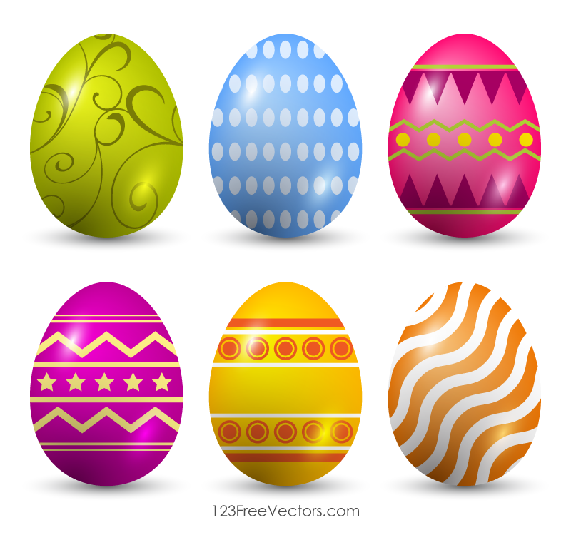 free clipart of easter eggs - photo #27