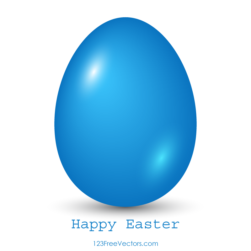 Blue Easter Egg Clip Art Download Free Vector Art Free