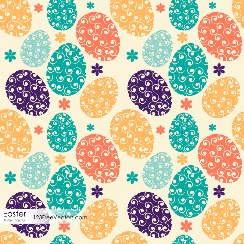 easter egg pattern download free vector art freevectors