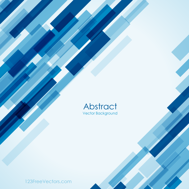 Free Geometric Blue Background Image | Download Free