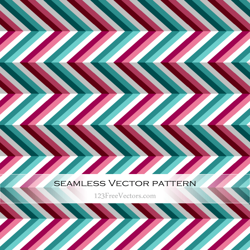 Seamless Chevron Pattern Abstract Background Illustration